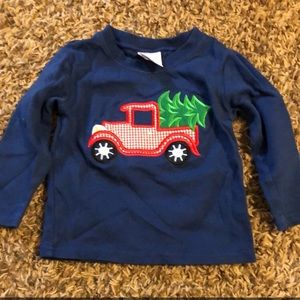 Jus4Boys Christmas tree truck tee